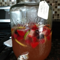 Nick & Kristin's Wedding Sangria (aka Raspberry Lemonade Sangria)